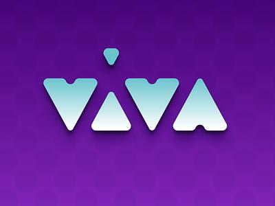 VIVA typography type logotype logoinspirations logo identitydesign identity branding brandidentity brand