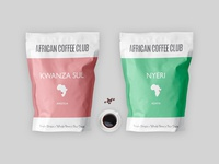 African Coffee Club Bag Design