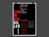 Cannibal Killer - Poster Design
