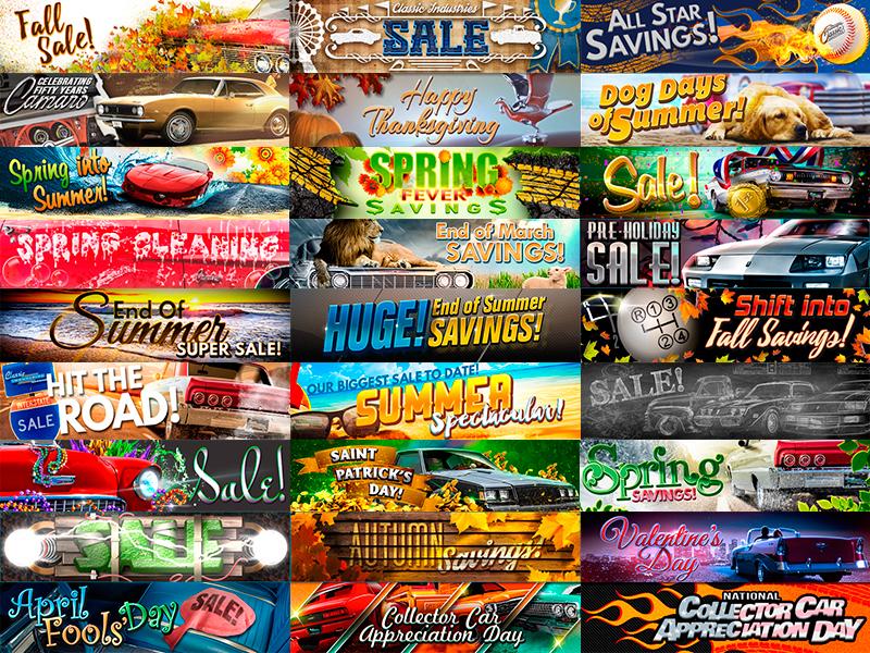 2017 Wall 'o' Graphics header graphic sale graphics photo manipulation eblast