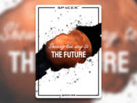 Space x poster - The Future