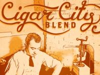 Cigar City Blend Poster
