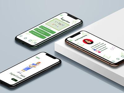 E-learning Application icon mobile app design mobile app ux graphic design art app flat minimal logo typography illustration design branding adobe photoshop application dribble ui user interface adobe