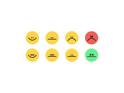 Emojis ui ai file web design stickers faces emotions illustration emojis