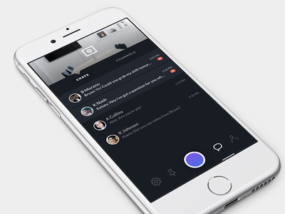 Camera UI exploration camera messaging channels iconography ux chat app app design mobile design product design ui