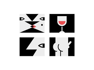 💖 true love humor graphic design kiss kiss wine boner sexual design card valentines day illustration