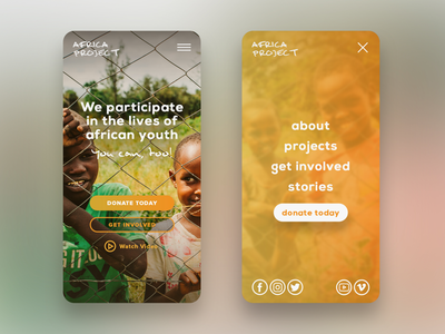 Non-profit UX & Mobile Website Design