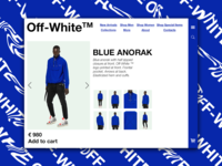 Day 44: Off-White Website Redesign