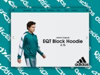 Day 45: Adidas Website Concept