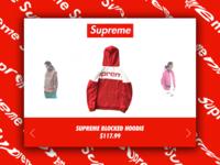 Day 46: Supreme Website Redesign