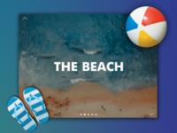 Day 47: Beach Website