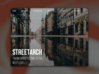 Day 50: Streetarch Website