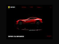Day 51: Ferrari Website