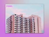 Day 55: Pink Landing Page