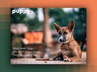 Day 59: Puppy Website