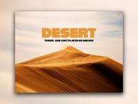 Day 60: Desert Website