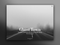 Day 66: Ghost Town Agency Website