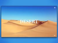 Day 90: Desert Website. 3/3.
