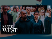 Day 96: Kanye West Website
