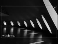 Day 126: Windows.