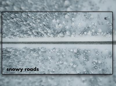 Day 211: Snowy Roads.