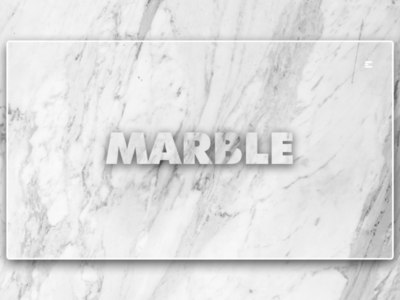 Day 217: Marble.