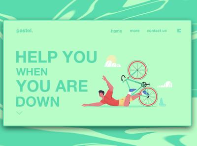 Day 222: Pastel Website.