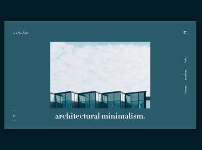 Day 251: Archie Architecture Site.