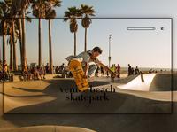 Day 275: Venice Beach Skatepark.