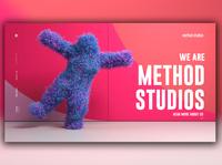 Day 321: Method Studios Website Redesign.