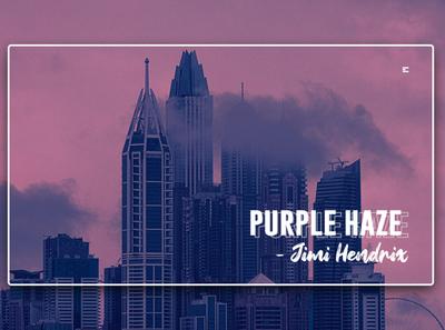 Day 331: Purple Haze by Jimi Hendrix Website.