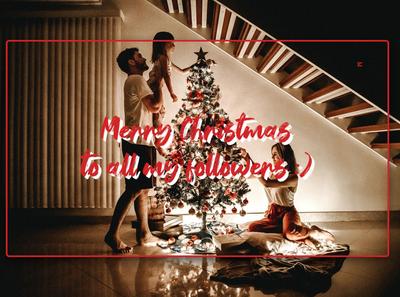 Day 342: Merry Christmas! daily design landing page landingpage graphic design web design minimal design christmas tree christmas