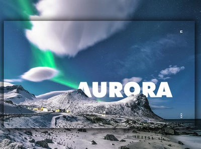 Day 353: Aurora Site. landing page landingpage uidesign illustration graphicdesign interface graphic design web design clean minimal design