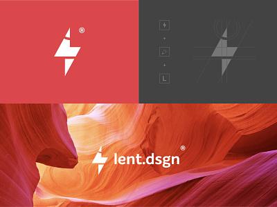 lent.dsgn New Logo vector type product design minimal brand clean typography logo branding design