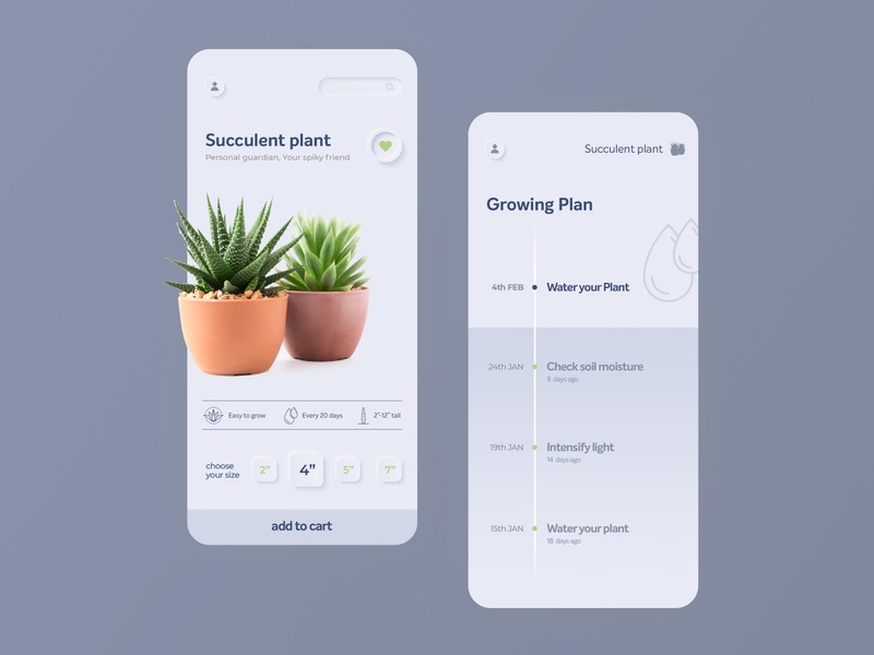 Buy and Grow Plant App