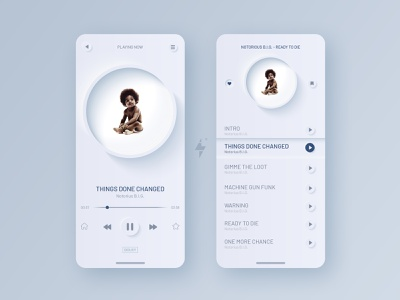 Music Player UI music art player ui player music app music website flat web app icon vector clean design ux ui