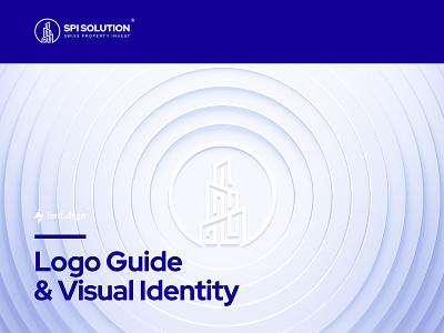 Swiss Property Invest Logo flat vector minimal product design brand typography logo clean branding design