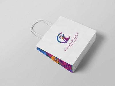 Casting Boutique | Branding illustrator animation clean logo vector illustration product design brand branding design