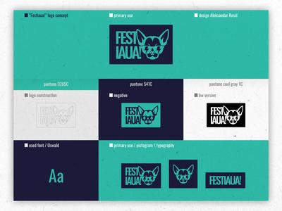 Festiaua! // Logo design