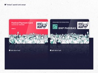 Festivaua // Payment Card Design