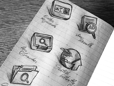 Some Sketches icons sketch drawing design