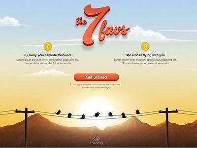 Landing page responsive website ux ui user interface interface webdesign web design landing page