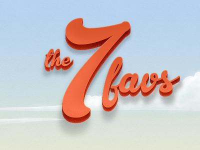 The big 7 typography illustration responsive website ux ui user interface interface landing page webdesign web design