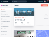 Events Web App