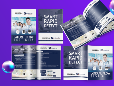 Clinical Product Brochure product brochure minimalistic minimal clean clinic flyer clinical clinic