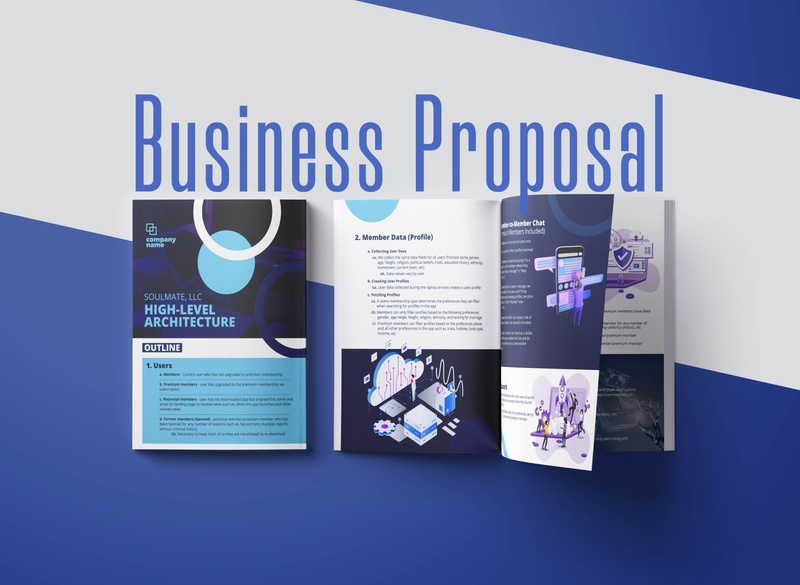 Business Proposal business brochure business brochure brochure design brochure layout design branding clean