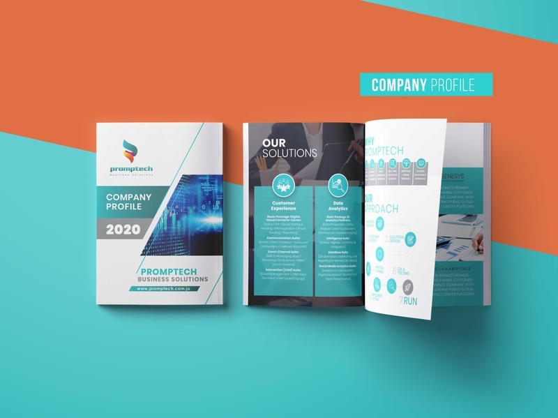 Company Profile design corporate art creative annual report annualreport company profile brochure design brochure branding design clean