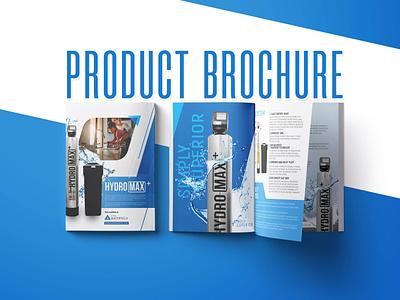 Product Brochure design profile company branding company profile hydro product design product branding clean design brochure design brochure
