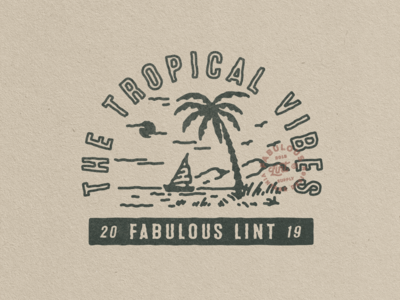 THE TROPICAL VIBES - AVAILABLE DESIGN