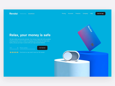 Safety webpage switch 3d 3d illustration 3d animation digitaldesign safety animation security freeze card freeze block card switcher ui clean website desktop webdesign minimal